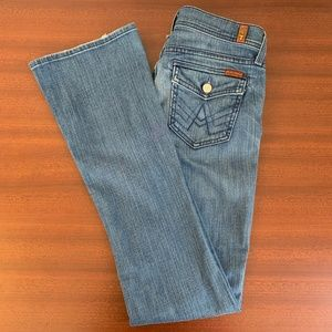 7 For All Mankind Rocker A-Pocket Boot Cut Jeans